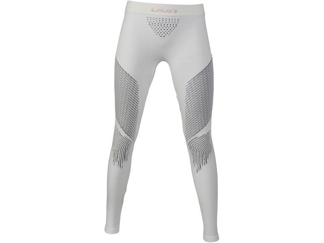 UYN Fusyon UW Pantalones Largos Mujer, snow white/anthracite/grey